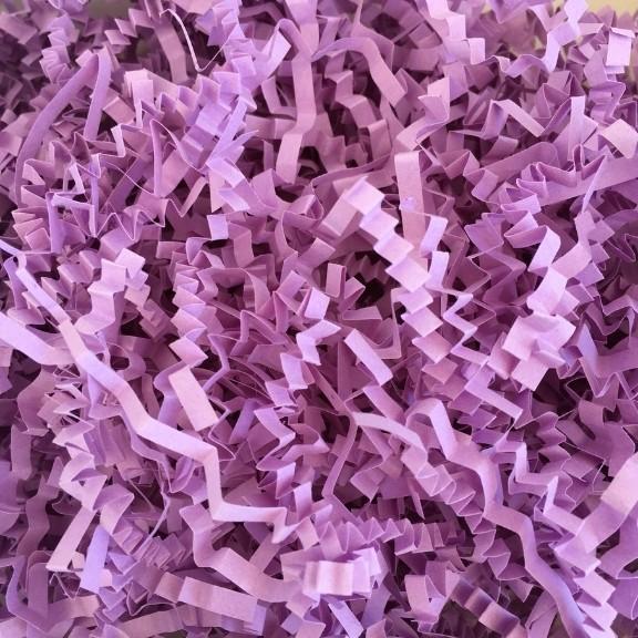 papel acordeón lila